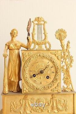 Pendule Allégorie De La Musique Epoque XIXème