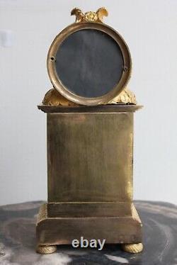 Pendule Borne Epoque Empire XIXème