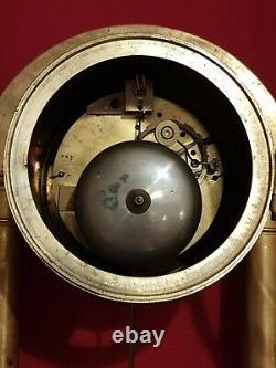 Pendule Portique En Bronze époque XIX ème s