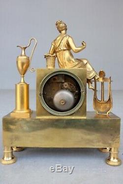 Pendule à La Lyre époque XIXème Siècle