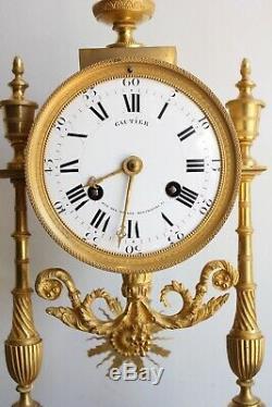Pendule d' Epoque XIXème Cadran Gauthier