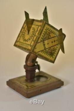 Pendule solaire avec boussole époque XIXème