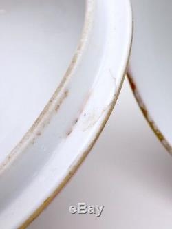 Porcelaine de MEISSEN pot à Sucre époque XIXeme