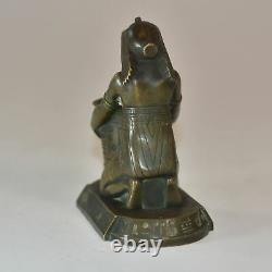 Pyrogène Jeune égyptienne bronze égyptomania époque fin XIXème
