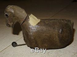 Rare cheval automate ancien Roullet Descamps époque Jean Roullet XIX ème