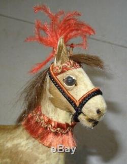 Rare cheval jupe automate ancien Roullet Descamps époque Jean Roullet XIX ème