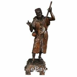 Régule patiné Orientaliste musiciens époque XIXème