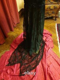 Robe en dentelle epoque 1900