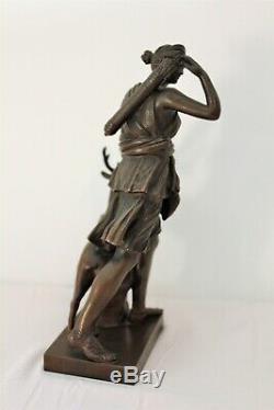 Sculpture bronze Diane de Versailles fonte Barbedienne époque XIX ème siècle