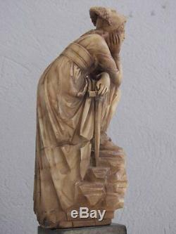 Sculpture en albâtre XIXème époque Empire
