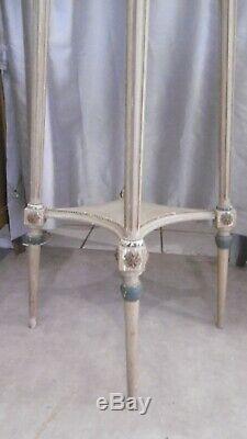 Sellette Marie Antoinette Style Louis XVI Epoque Xixeme Patine Vert Amande