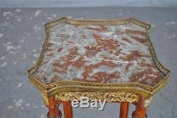 Sellette de style Louis XVI époque fin XIXème en acajou