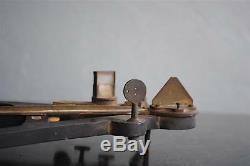 Sextant instrument de navigation marine époque XIXème