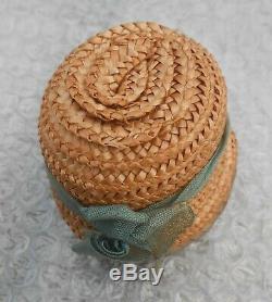 Superbe chapeau poupée Parisienne époque fin XIXème