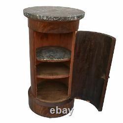 Table de chevet Empire acajou époque XIXème dit somno
