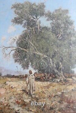 Tableau Orientaliste d'Alfred Chataud Epoque XIXème