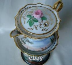 Tisaniere En Porcelaine De Paris XIX Eme Epoque Napoleon III