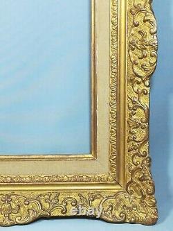 Très Beau Cadre En Stuc Doré Style Montparnasse Louis XV Époque Xixème