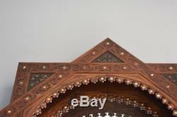 Très belle console Égyptienne et son miroir époque fin XIXème