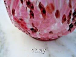 Vase verre Legras d'époque XIXème