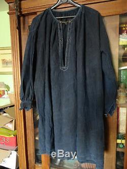 Vêtement ancien biaude ou blaude de maquignon époque XIXéme