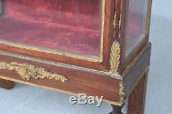 Vitrine miniature époque Napoléon III XIXème